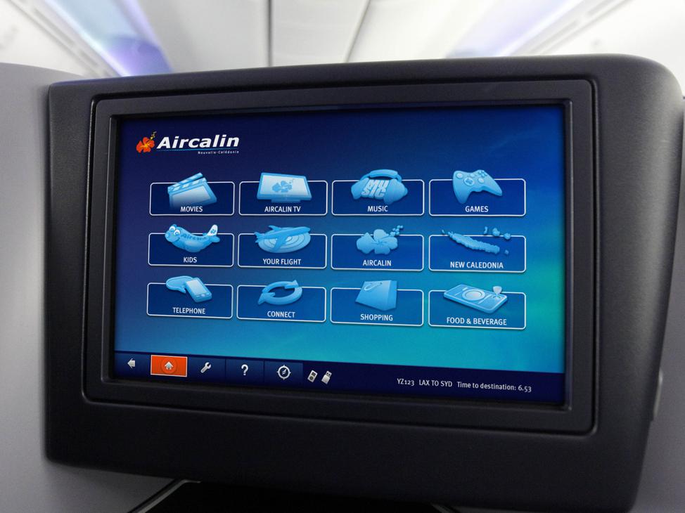 ACI IFE GUI screen design (Home)