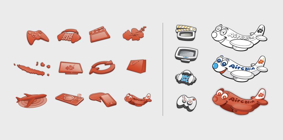 ACI IFE GUI screen icons
