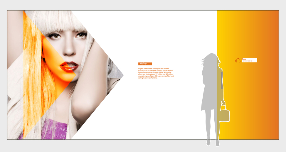 Interact branding - office graphics